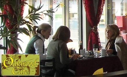 The Oakwood Cafe: $20 Groupon for Dinner - The Oakwood Cafe in Winnipeg