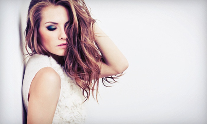 Be Unique Full Service Hair Salon - Plymouth: Haircut Package with Option of Partial Highlights at Be Unique Full Service Hair Salon (Up to 56% Off)