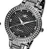 Women's Black Crystal Quartz Watch by Adee Kaye