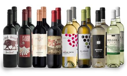 16 Bottles of Wines from Splash Wines (81% Off)