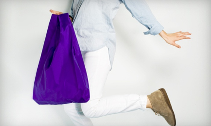 Baggu: Reusable Shopping Bags, Totes, Backpacks, and Other Carryalls from Baggu (Half Off). Two Options Available.