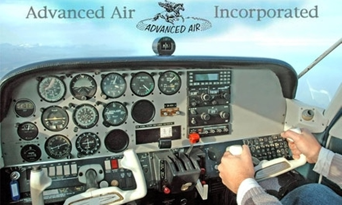 Advanced Air Incorporated - Garner: $39 for One Half-Hour Discovery Flight with Advanced Air Incorporated ($78 Value)
