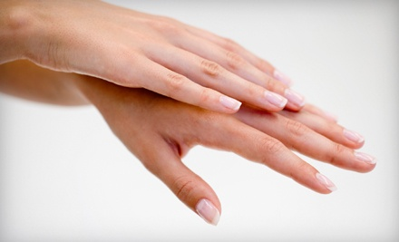 Gel Manicure (a $30 value) - Rapheala Salon & Spa in Oklahoma City