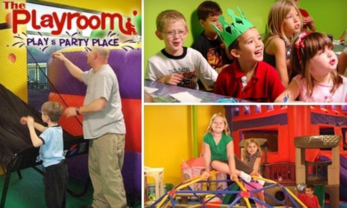 The Playroom - Bermuda: $50 for a Weekday Party at The Playroom ($100 Value)