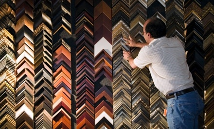 $100 Groupon to Inman's Picture Framing - Inman's Picture Framing in Evansville