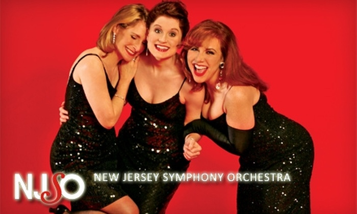 New Jersey Symphony Orchestra - North Jersey: $39 for Admission to Jacques & the Divas and a Glass of Champagne from the New Jersey Symphony Orchestra ($79 Value)