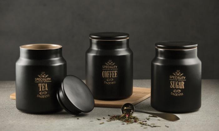 6b7b515dfaf4 Price and Kensington Three-Piece Storage Jar Set