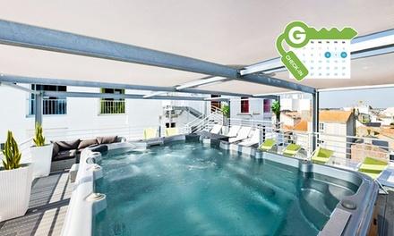 Sablesd'Olonne:chambre double confort avec pdj, accès Spa et massage en option à Arc en ciel Hôtel SPA pour 2 personnes