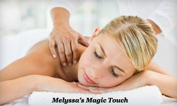 Melyssa's Magic Touch - Downtown: $40 for a 60-Minute Massage of Your Choice at Melyssa's Magic Touch Plus 20% Off Haircut