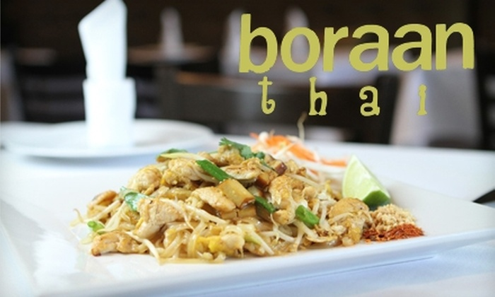 boraan - Mid-City West: $20 for $40 Worth of Authentic Thai Fare and Drinks at boraan in Beverly Hills