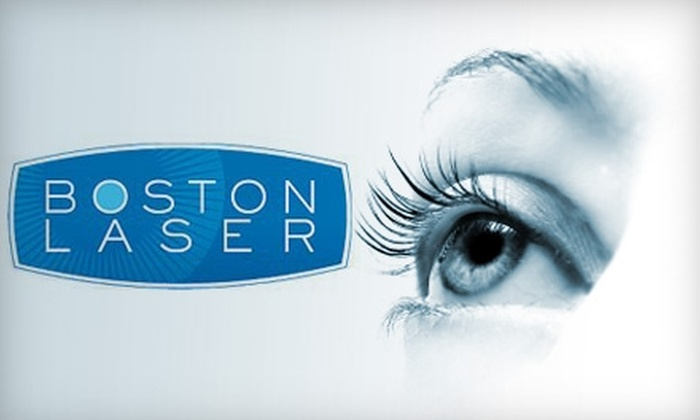 Boston Laser - Multiple Locations: $2,600 for a Complete Laser Vision Correction from Boston Laser ($5,900 Value)