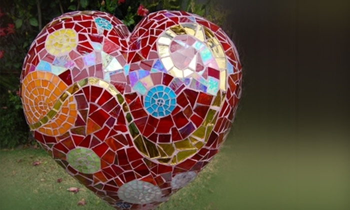 Santa Barbara School of Mosaic Art - Oak Park: $72 for a Beginners' Mosaic-Art Workshop at Santa Barbara School of Mosaic Art ($145 Value)