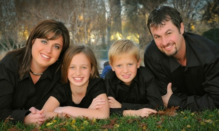 "The Photo Store - Amarillo: $30 for an Outdoor Family Studio Session and 11""x14"" Wall Portrait at The Photo Store ($139.95 Value)"