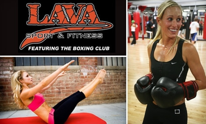 Lava Sport & Fitness - Multiple Locations: $39 for One Month of Unlimited Classes and Gym Use Plus Two Half-Hour Personal-Training Sessions at Lava Sport & Fitness ($378 Value). Choose from five locations.