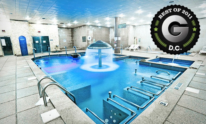 Spa World - Centreville: Day Pass or One or Two Spa-and-Massage Packages with Day Pass and Foot Massage at Spa World in Centreville (Up to Half Off)