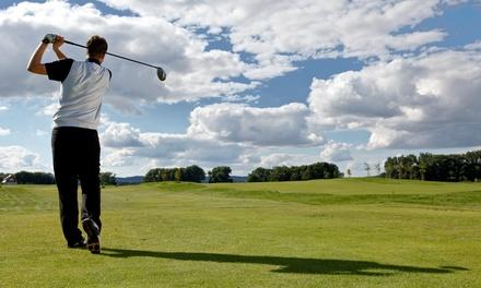 Golf-Platzreifekurs, opt. 3 Monate Platz-Nutzung, für 2 oder 4 im Golfclub Schloss Reichertshausen (bis zu 56% sparen*)