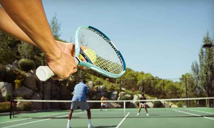 Lexington Tennis Club - Oaks Condominiums: Two- or Three-Month Membership Package with Lesson, Massage, and Court Time at Lexington Tennis Club (Up to 75% Off)