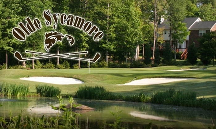 Olde Sycamore Golf Plantation - Mint Hill: $189 for 10 Rounds of Golf, 10 Buckets of Range Balls, and 10 Lesson Clinics at Olde Sycamore Golf Plantation ($1,060 Value)