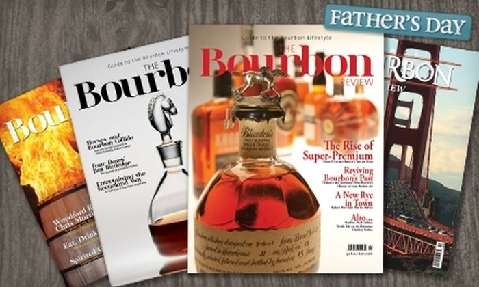 """Bourbon Review - Lexington: $7 for a One-Year Subscription to """"Bourbon Review"""" ($14.99 Value)"""