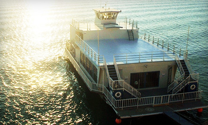 """""""Flagship Texas""""  - Comanche Village: $75 for a Two-Hour Cruise for Two on the """"Flagship Texas"""" ($150 Value). Four Dates Available."""