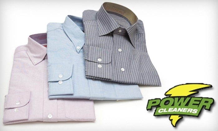 Power Professional Cleaners - Lake Forest: $12 for $25 Worth of Pickup Dry Cleaning Services at Power Professional Cleaners in Lake Forest