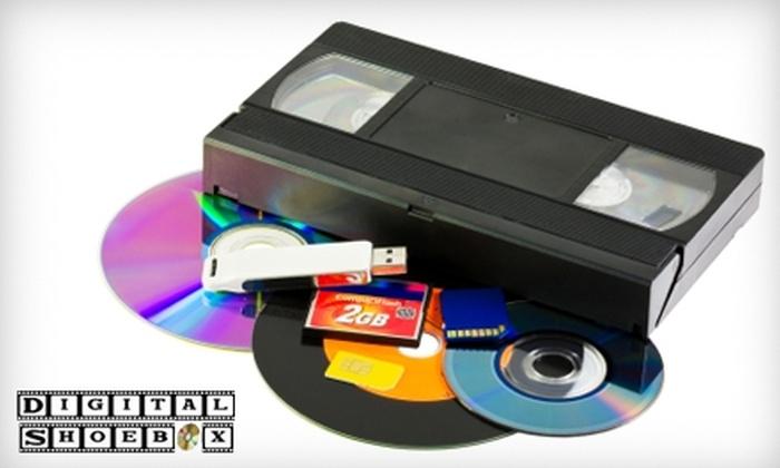 Digital Shoebox: $37 for a 60-Photo Digital Slideshow from Digital Shoebox ($75 Value)