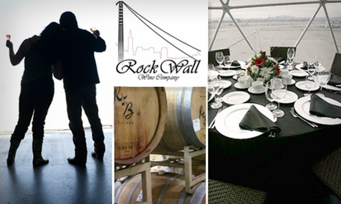 Rock Wall Wine Company - Alameda: $30 for a Bottle of Wine and Admission to Rock Wall Wine Company's Summer Open House, Plus $10 Gift Certificate to Angela's Bistro (Up to $69 Value)