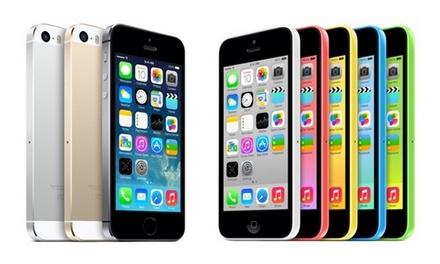 Apple iPhone 4S/5/5S/5C reconditionnés, livraison offerte