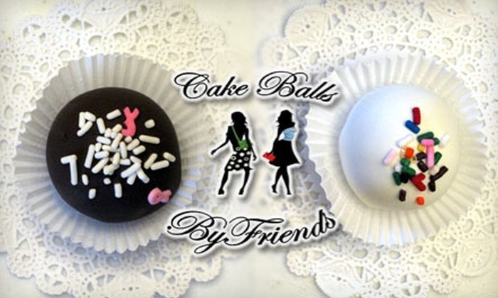 Cake Balls by Friends - Tulsa: $7 for One-Dozen Cake Balls from Cake Balls by Friends ($15 Value)