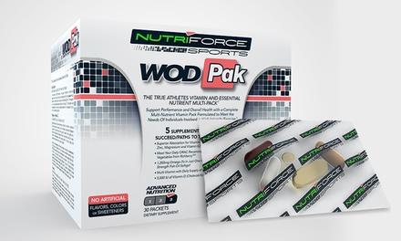 WODPak Sport-Performance Multivitamins; 30-Packet Box