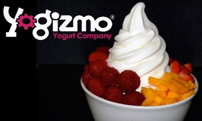 Yogizmo - Multiple Locations: $4 for $8 Worth of Frozen Yogurt and Desserts at Yogizmo