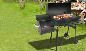 Barbecue fumoir au Charbon de Bois