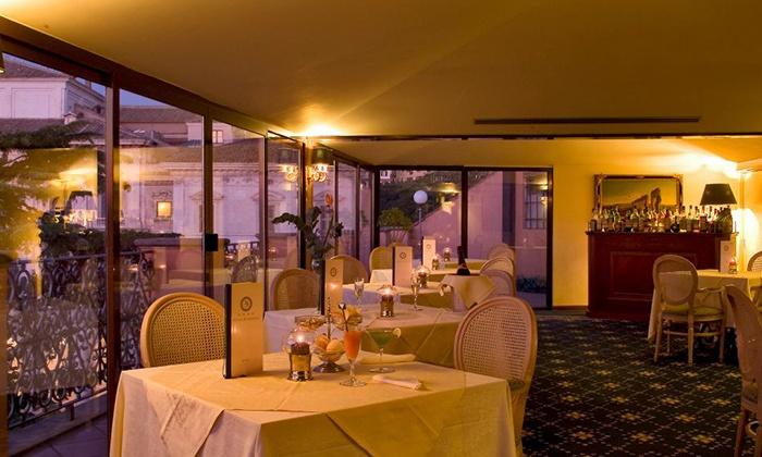 Terrace Restaurant Hotel Barberini Fino A 37 Roma Groupon