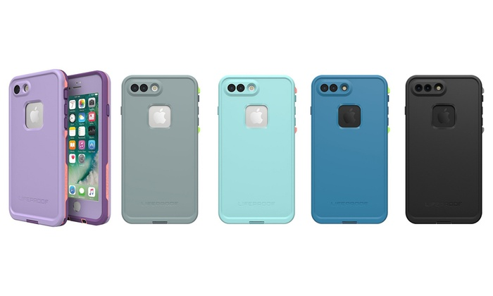 new arrival 2e11b 0a62c Lifeproof FRE Waterproof Case for iPhone 7/8 and 8 Plus/7 Plus | Groupon