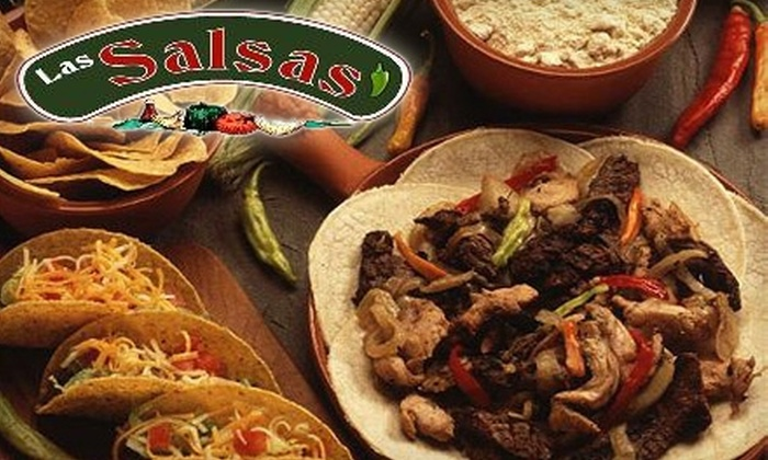 Las Salsas - Montgomery: $7 for $15 Worth of Mexican Fare and Drinks at Las Salsas