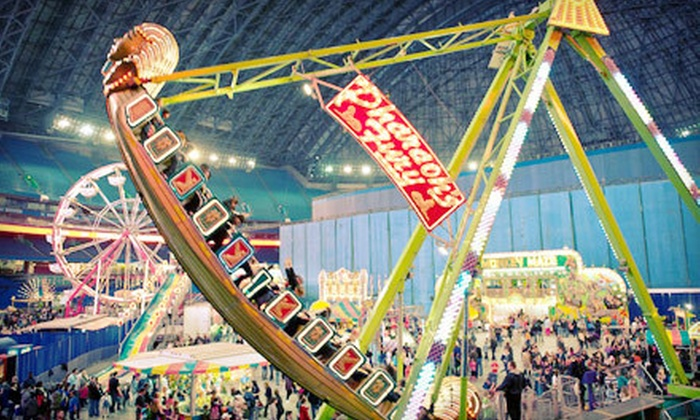 """Rogers Centre - Downtown Toronto: $13 for a Trip to Family Fun Fair Presented by """"Today's Parent"""" at Rogers Centre ($25.25 Value)"""
