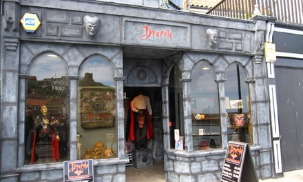 Dracula Experience Entry for One, Two or a Family of Four