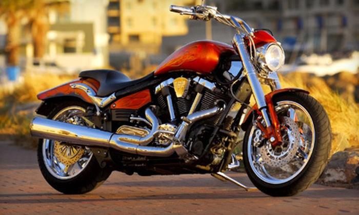 58th Street Customs - Sarasota: Regular or Synthetic Motorcycle Oil Change at 58th Street Customs in Sarasota (Half Off)