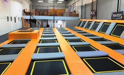image for One-Hour Jump Session for Up to Four at Jump Depot (Up to 30% Off)