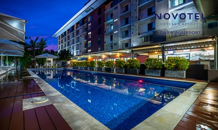 Darwin: One or Two Nights for Up To Four People with Late CheckOut and WiFi at Novotel Darwin Airport Hotel