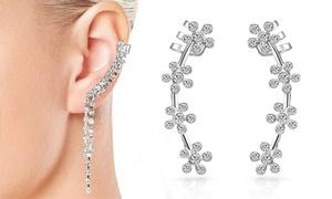 Boucles d'oreilles cristaux