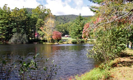 Groupon Deal: 1-, 2-, or 5-Night Stay for Two at Pisgah View Ranch in Candler, NC