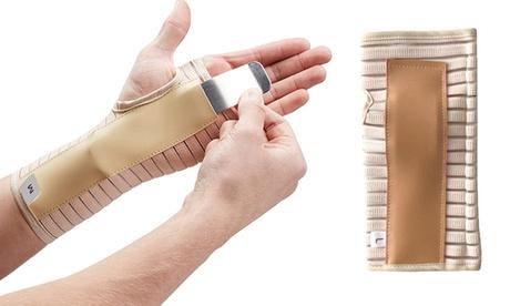 1 o 2 férulas transpirables de sujeción para la muñeca derecha y/o izquierda