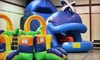 Nothing But Bounce - 6: Four Open-Play Bounce Visits or Unlimited Summertime Play at Nothing But Bounce (Up to 89% Off)