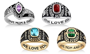 Women's Personalized Class Ring