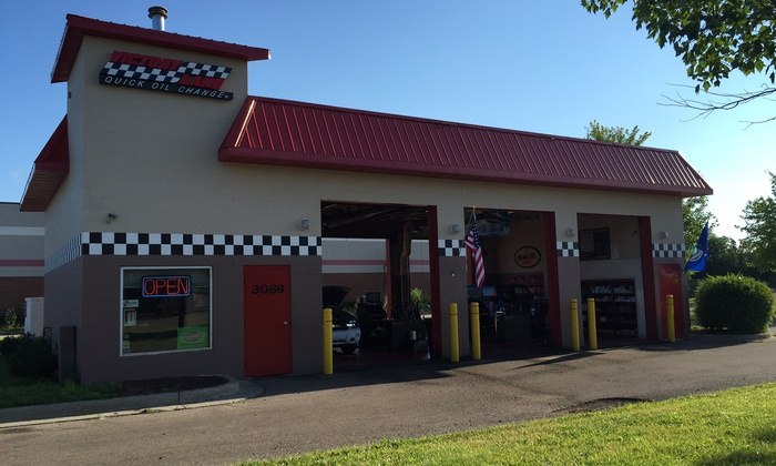 One Conventional, Synthetic-Blend, or Full-Synthetic Oil Change at Victory Lane Quick Oil Change Up to 54% Off)