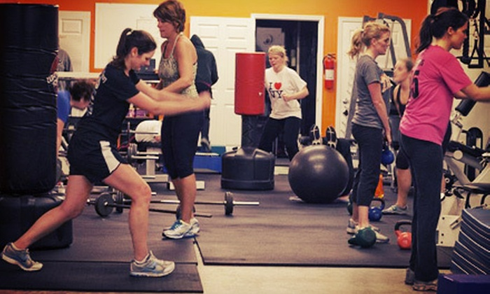 Scenic City Boot Camp - Hixson/North Chattanooga: Four Weeks of Unlimited Boot Camp with Optional 21-Day Eating Program at Scenic City Boot Camp (Up to 81% Off)
