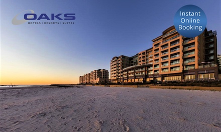 Glenelg, Adelaide: 1, 2, 3, or 4Night Beach Holiday for Two or Four at the Oaks Plaza Pier