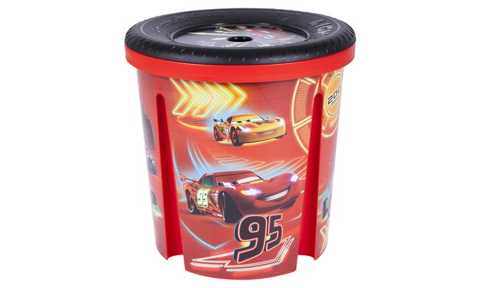 ... Disney Cars Storage Bin for Toys ...  sc 1 st  Groupon & Disney Cars Storage Bin for Toys | Groupon Goods