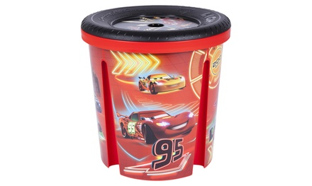 One or Two Disney Cars Storage Bins for Toys